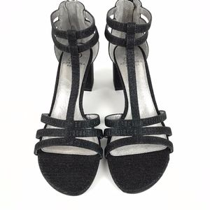 Adrianna Papell |  NWOB Black Ankle Strap Sandals